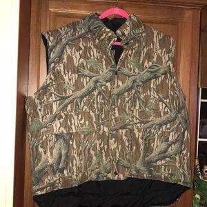 Field & Stream Reversible Camo Down Hunting Vest